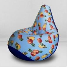 Кресло бескаркасное груша ананасовая вечеринка