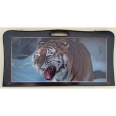 Нарды дипломат амурский тигр, цветные большие