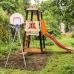 Детский спортивный комплекс для дачи ROMANA Избушка NEW