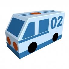 Контурная игрушка «Полиция»