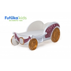 Детская кровать-карета Aurora для девочек