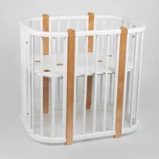 NUnew Кроватка детская Incanto Nuvola New 5 в 1
