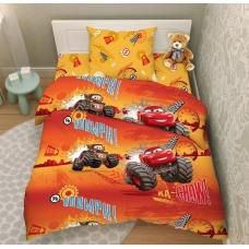 Комплект постельного белья 1,5сп бязь Молния Маккуин