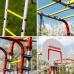 КОМПЛЕКТ ROMANA Акробат - 2 NEW + Качели пластиковые + Сетка лаза на грунтозацепах + Качели цепные + Брусья со спинкой + Доп.ступень (с крепежом)
