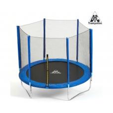 Батут DFC Trampoline Fitness с сеткой 10ft