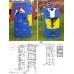 Непоседа-Дачник Модель № 2 с горкой 2,0 метра, качелями на подшипниках/цепях